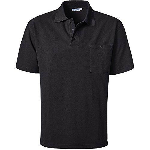Pionier 2814-M Poloshirt 1/2 Arm, schwarz, Size Medium