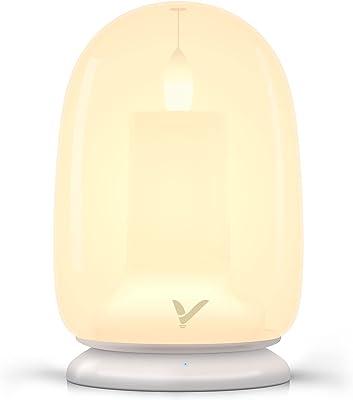 ナイトライト テーブルランプ VEYFIY 4種のLEDライトモード 調光 授乳 ベッドサイドランプ タイマー付き type-c 充電式100時間間接照明 タッチセンサー メモリー機能 充電ベース付きライト VE-HBL001