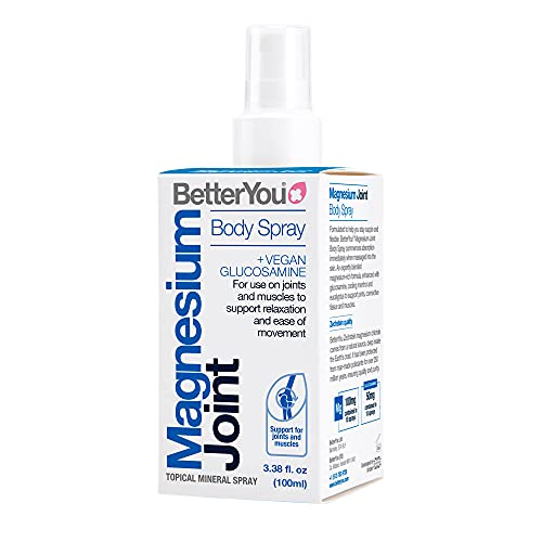 BetterYou Magnesium Oil Joint Spray, 100 millil
