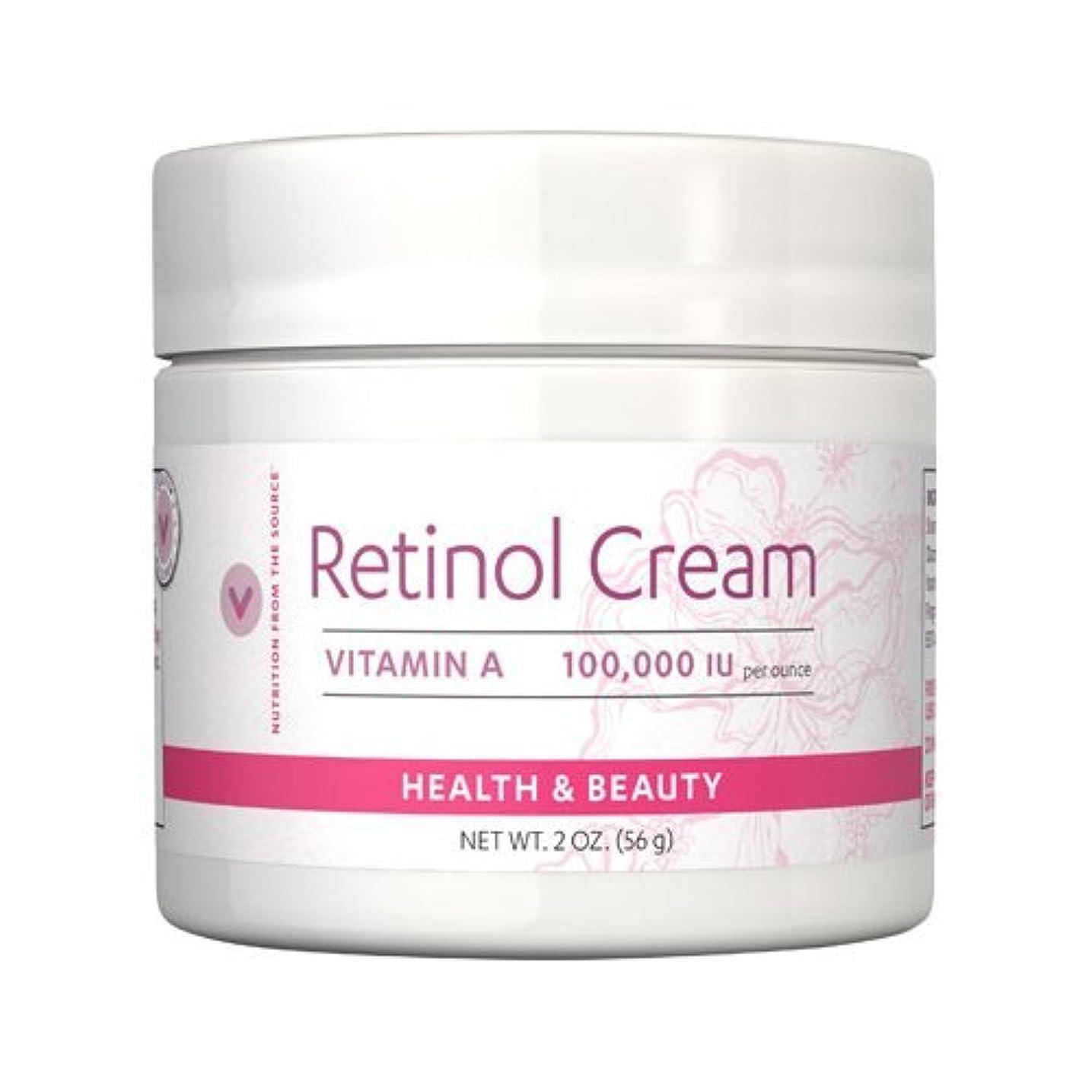 ピラミッド金銭的な奇跡Vitamin World ビタミンワールド レチノールクリーム56g(2oz)[並行輸入品]