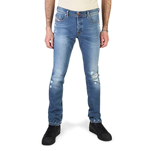 Diesel SLEENKER JEANS Uomo DENIM MEDIUM BLUE 32 L32