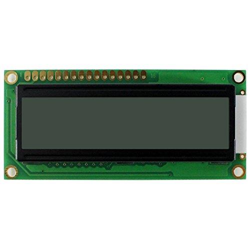1602 LCD-module voor 16 x 2 tekens LCD-scherm zwarte tekens op witte achtergrond (MEHRWEG)