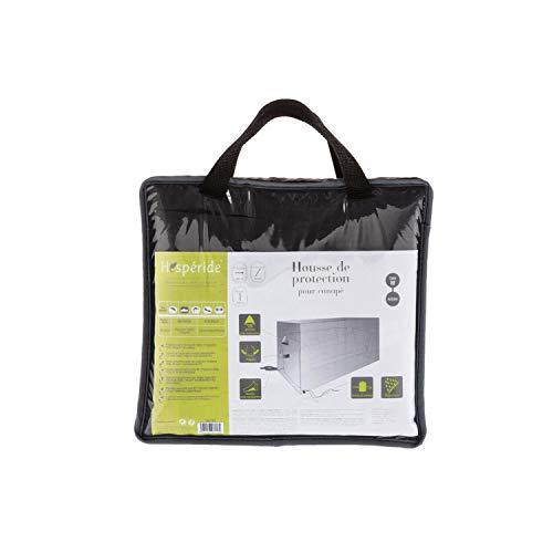 AC-Deco Housse de canapé Taille M - L 200 cm x P 115 cm x H 100 cm - Polyester - Gris
