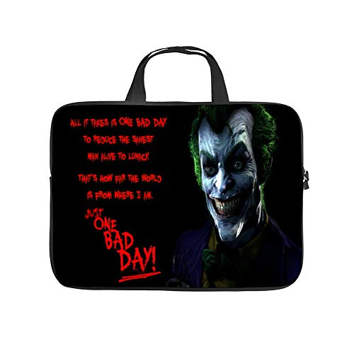 Universal Laptop Computer Tablet,Bag,Cover for,Apple/MacBook/HP/Acer/Asus/Dell/Lenovo/Samsung,Laptop Sleeve,Video Games Bat-Man,15inch