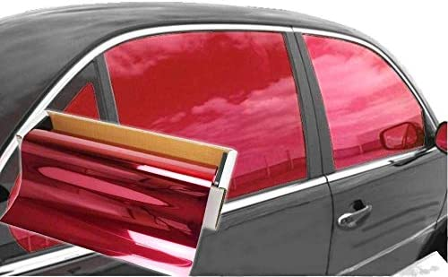 JNK NETWORKS Reflective Shield Ceramic Window UV Tint Film for CarsTrucks Tractors Red 20 x product image