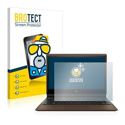 BROTECT Entspiegelungs-Schutzfolie kompatibel mit HP Spectre Folio 13-ak0314ng Bildschirmschutz-Folie Matt, Anti-Reflex, Anti-Fingerprint