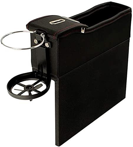 Belevículas únicas del asiento de la consola de coches Caja de almacenamiento de la moneda del bolsillo del bolsillo de la moneda Organizador automático Accesorios para automóviles Asiento de coche Po