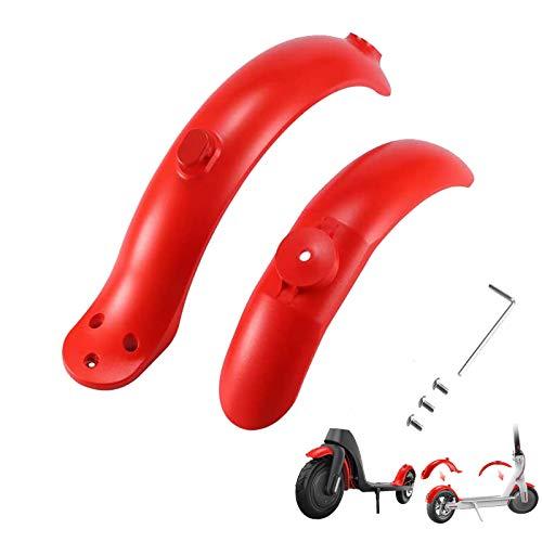 Konesky Patinete Electrico Guardabarros, 2 Piezas Inyección de Combustible Modificado Rojo Mudguard...