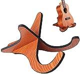 Soporte para Ukelele,Forma de X Soporte de Madera para Guitarra Desmontable para Banjo Soporte Universal Portátil Plegable Soporte Guitarra para Mandolina Banjo Violín Accesorio