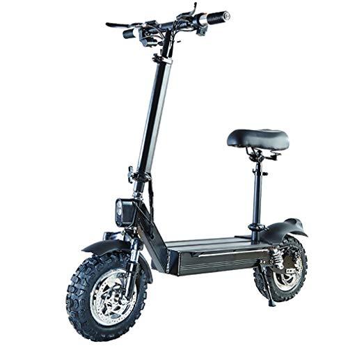 YXP Patinetes eléctricos de 1000W Velocidad máxima 60 km/h Doble accionamiento Scooter...