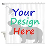 Samantha Custom Shower Curtain, Custom Curtain, Personalized Shower Curtain, Custom Image, Custom Backdrop, Custom Photograph (4072 inch)