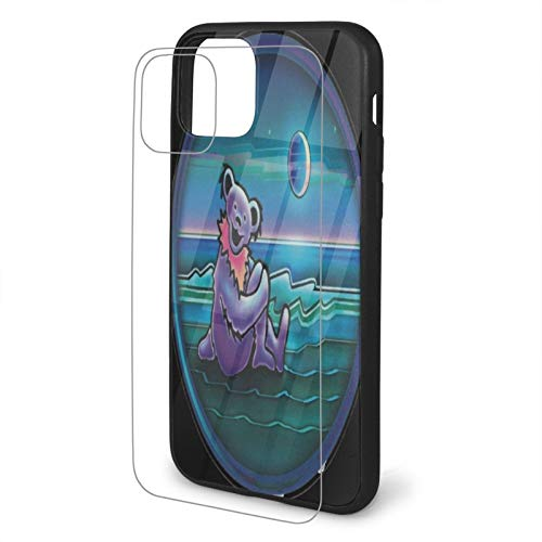 vGrate-ful Dead Dancing Bear Tempered Glass iPhone 11 /Pro/Max Case,...