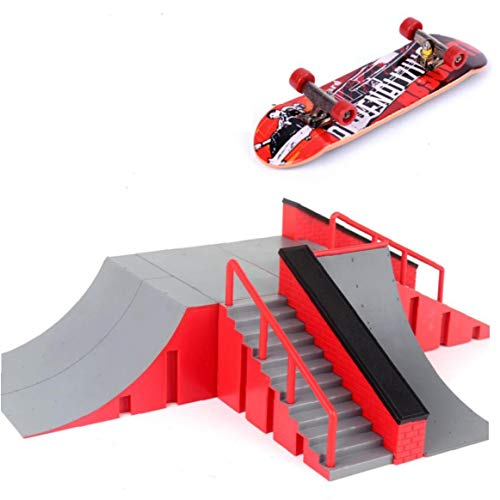 Zonfer 1pc Mini Skateboard Spielzeug Skatepark Ultimate Für Brett Skateboard Rampen Brett Park Training Board