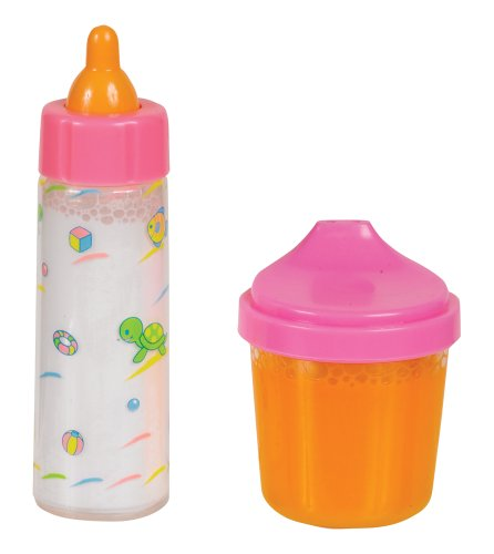 Small World Toys All About Baby Dolls - Bottle and Juice Cup (Doll Only)