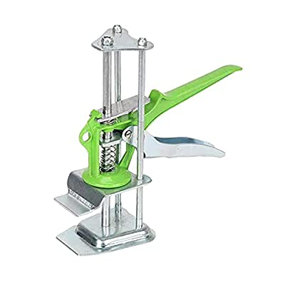 Tile Leveling System Leveler Spacers,Arm Precision Clamping Tool,All-Steel Ceramic Tile Height Adjustment Lifting Device Manual Lifting Positioning Pad,Wall Tile Level Regulator (#2 Green)
