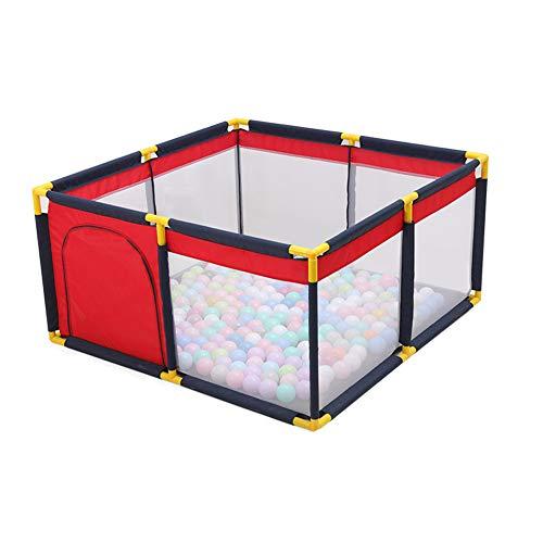 Portable Box Voor Baby's En Peuters Grote Indoor Foldable Children's Beschermhekkenbouwdoos Room Divider Barrier Expandable Veiligheid Van De Baby Barrier Kasteel Infant for Child Kids,M