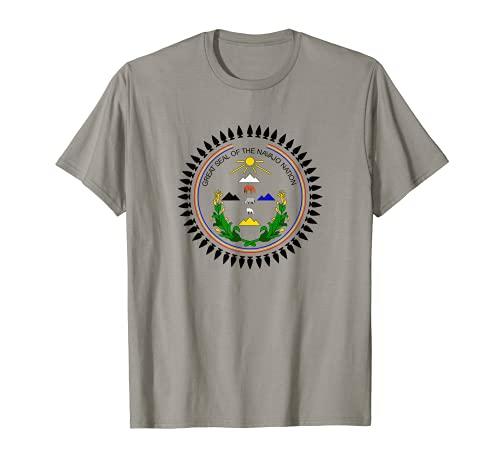 Navajo Nation Bandera Nativa Americana Tribu Indios Camiseta