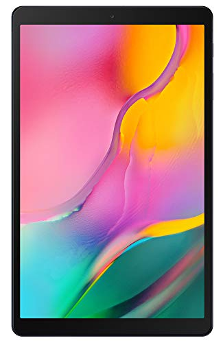 Samsung Galaxy Tab A 10.1' (32GB + 128GB SD, WiFi Only) Full HD Corner-to-Corner Display, Tablet SM-T510, (International Model)(Black)