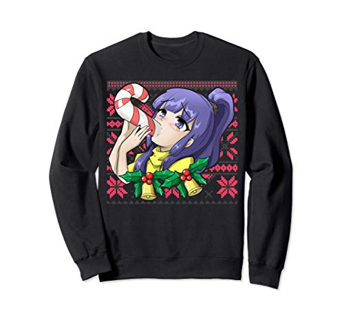Ugly Christmas Otaku Ahegao Ecchi Etchi Lewd Hentai Kawaii Sudadera