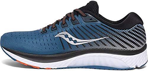 Saucony Men's S20548-25 Guide 13 Running Shoe, Blue/Silver - 8 M US