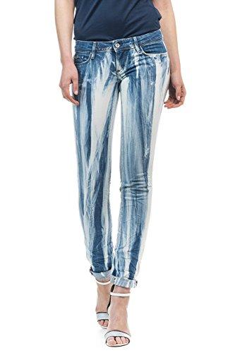 Salsa Damen Jeanshose Blau blau 29 W/32 L