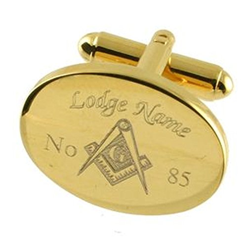 Freimaurer Manschettenknöpfe Freimaurer Lodge Name eingraviert Nummer Manschettenknöpfe Select Geschenk Tasche