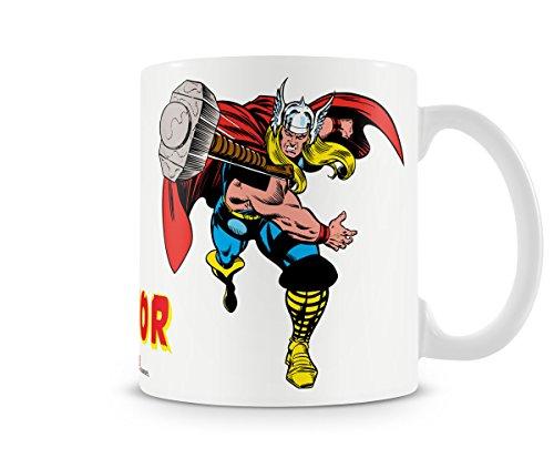 Thor Marvel Comics - Taza (cerámica, en caja de regalo), diseño de Marvel
