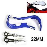 Motorcycle 22mm 7/8 inch Handguards Universal Hand Guards For dirt pit bike ATV Yamaha WR250F WR450F YZ450F YZ125 YZ250 YZ250F Enduro Motocross Blue