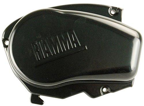 Fiamma F65S  Endkappe links Deep Black