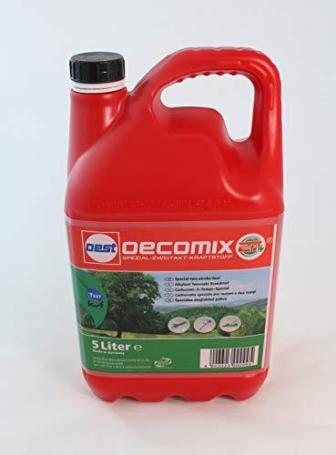 Motorsensen Motorsägen Heckenscheren Benzin Kraftstoff 2 Takt Oecomix Ökomix 5 Liter