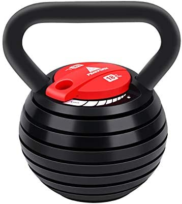 10 40LBS Kettlebell Weights Sets Adjustable Kettle Bells Weight Set For Men Or Women Strength product image