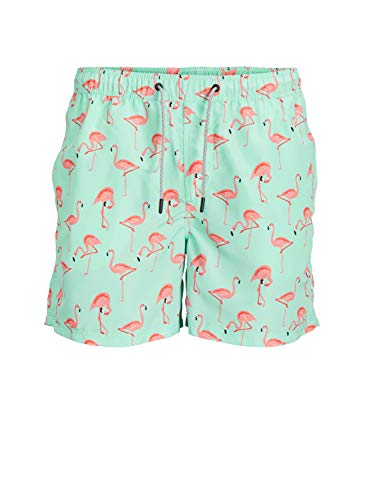Jack & Jones Jjiaruba Jjswimshorts AKM Animal STS heren zwembroek