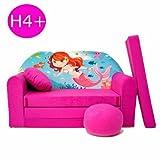H4+ niños Bar Dormir emergente sofá sofá sofá Mini sofá 3en 1Baby Set +–Sillón infantil y asiento cojín + colchón