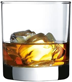 James Scott European Made Lead-Free Crystal Old Fashioned Whiskey Glasses, Excellent For Cocktail Bourbon Rocks Tumbler Glass 11 Ounce Bar Glassware Set of 2 - New and improved packaging