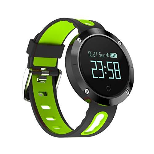Outdoor-Smartwatch Domino DM58 0,95 Zoll OLED Großes Touchscreen-Display Sport Smart Armband, IP68 Wasserdicht und Staubdicht, Unterstützung Schrittzähler/Pulsmesser/Blutdruckmonitor/Benachricht