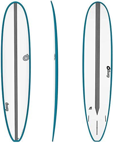 TORQ Surfboard Epoxy TET CS 9.0 Longboard Carbon Teal Malibu