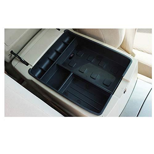 Tonyzhou Co.,ltd Auto Zentralarmlehne Aufbewahrungsbox Schwarz Auto Container Handschuh Organizer Fall, Für Toyota Highlander 2009-2015