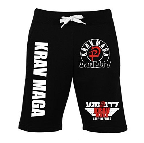 Krav Maga Short–2–Pantalones de chándal de Entrenamiento Pantalones de Combate–Pantalones de Deporte