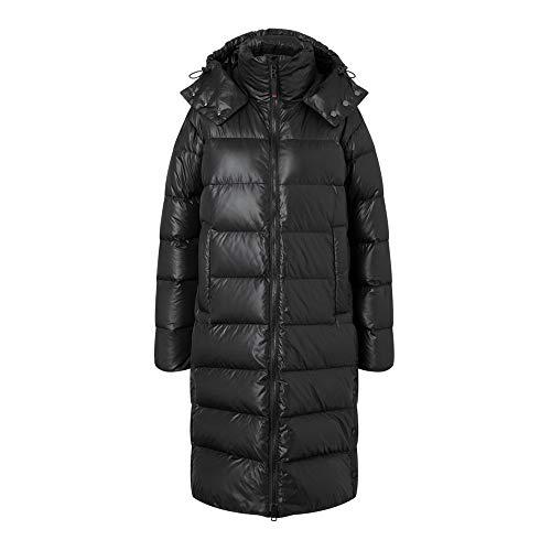Bogner Fire + Ice Ladies Birdy2-D Schwarz, Damen Daunen Mantel, Größe 40 - Farbe Black