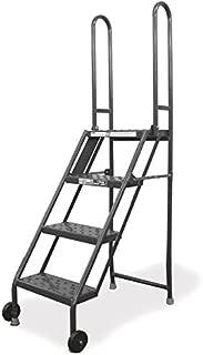 Tilt and Roll Ladder, Platfm 40 in H