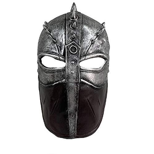 Hiccup Flight Mask Dragon Mask Halloween Cosplay Mask Latex Silver