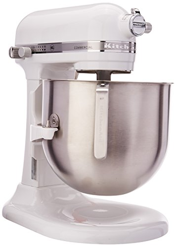 Batidora KitchenAid Commercial 8 Qt 7.6 ltrs 1.3 HP (Gris Imperial)