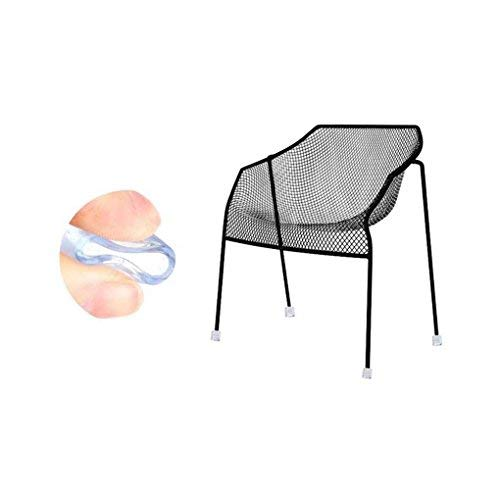 LUFA 4Pcs Gummi Möbel Tisch Stuhl Bein Boden Füße Cap Cover Protector Transparent Pads