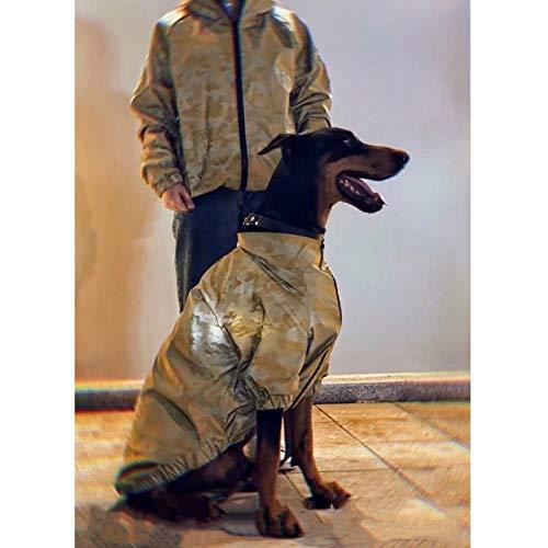 Hundekleidung Dog Reflective Outdoor Jacke Winddichte Tarnkleidung Pet Hoodie Coat Für Kleine Mittelgroße Hunde Dobermann Kleine Mittlere Und Große Hundekleidung
