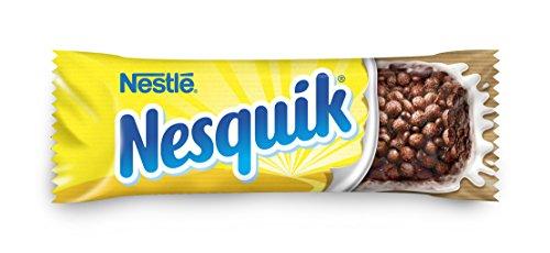 Nestlé NESQUIK Barritas de Cereales con Cacao - 6 barritas de cereales con cacao (6x25g)