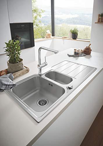 Grohe – Minta Küchenarmatur mit herausziehbarem Auslauf, L-Size, Chrom - 8