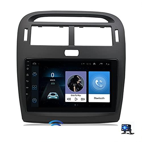 Android 10.0 Car Stereo Sat Nav Radio Reproductor de video multimedia con pantalla táctil para Lexus LS430 2001-2006 Soporte Bluetooth USB WIFI 4G GPS Mirror Lin(Size:cuatro nucleos,Color:WiFi 4G+64G)