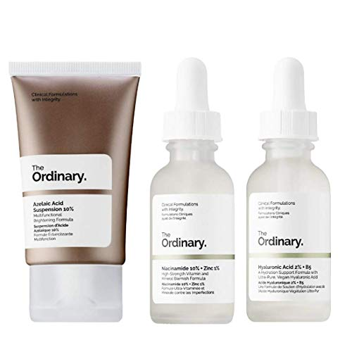 The Ordinary Facial Skincare Set! Azelaic Acid Suspension With Brightening Formula! Niacinamide...