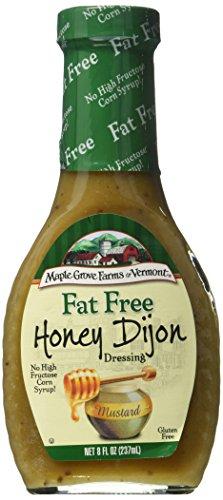 Maple Grove Farms Fat Free Salad Dressing, Honey Dijon, 8 fl oz