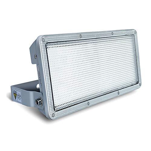 Rugging 50W LED Flutlicht 5000LM Superhell LED Fluter led flutlicht außen 6500K LED Flutlicht IP67 Wasserdicht Aussenstrahler Für Garten Garagen Lagerhäuser [Energieklasse A+]